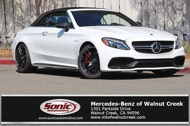 Used 2018 Mercedes-Benz AMG C 63 AMG C 63 S Convertible for sale in Walnut Creek, near San Francisco