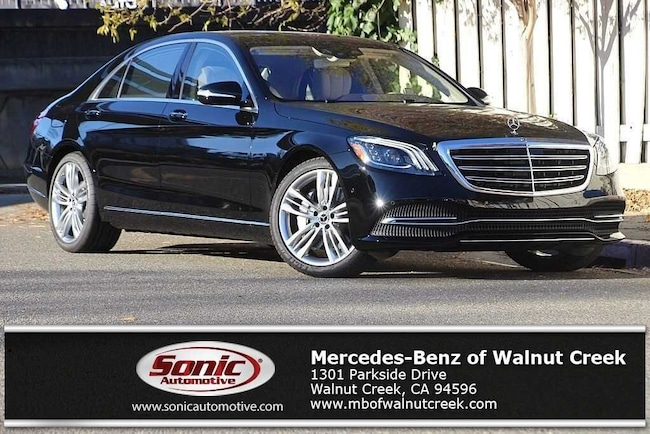 New 2019 Mercedes-Benz S-Class S 450 Sedan for sale near San Francisco, in Walnut Creek
