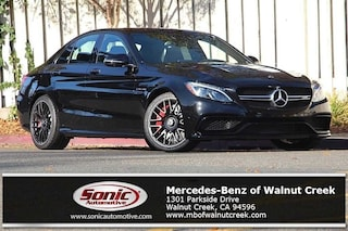 New 2018 Mercedes-Benz AMG C 63 AMG C 63 S Sedan for sale in Walnut Creek, CA