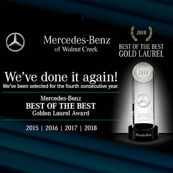 Mercedes-Benz of Walnut Creek: #1 Volume Dealer in N California