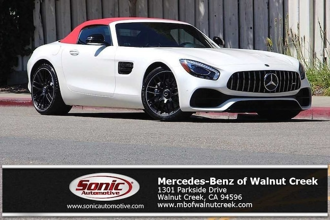 New 2018 Mercedes-Benz AMG GT Roadster for sale near San Francisco, in Walnut Creek