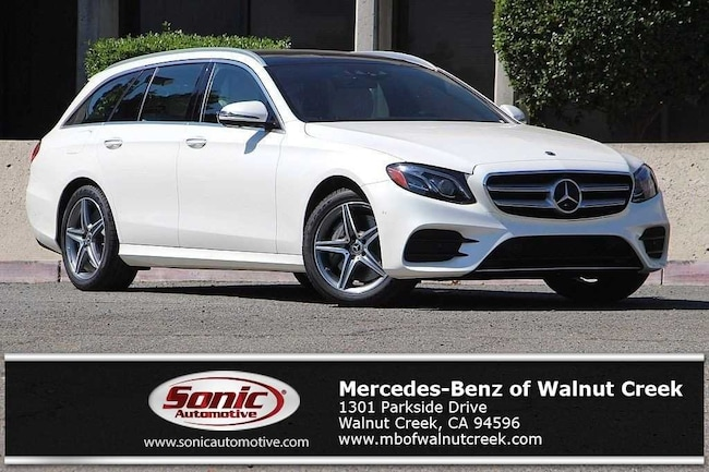 New 2019 Mercedes-Benz E-Class E 450 4MATIC Wagon for sale near San Francisco, in Walnut Creek