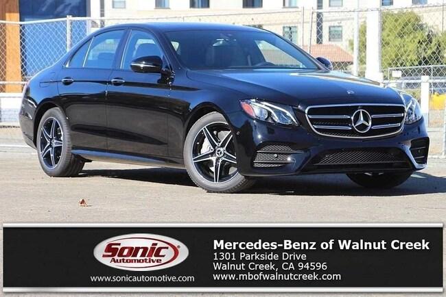 New 2019 Mercedes-Benz E-Class E 300 Sedan for sale near San Francisco, in Walnut Creek