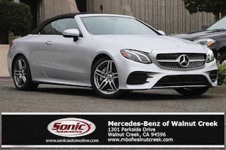 New 2018 Mercedes-Benz E-Class E 400 Cabriolet for sale in Walnut Creek, CA