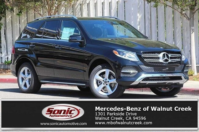 New 2018 Mercedes-Benz GLE 350 SUV for sale near San Francisco, in Walnut Creek