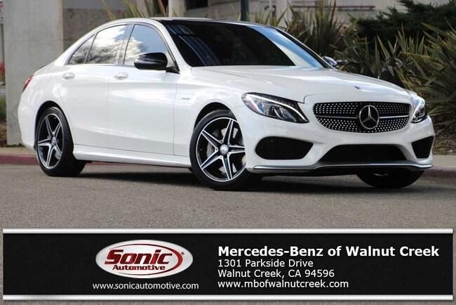 Certified Pre-Owned 2016 Mercedes-Benz C-Class C 450 AMG 4MATIC Sedan for sale in Walnut Creek, near Oakland CA