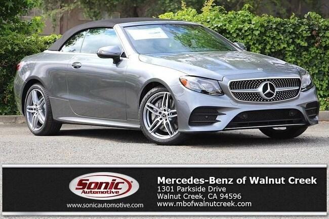 New 2018 Mercedes-Benz E-Class E 400 Cabriolet for sale near San Francisco, in Walnut Creek