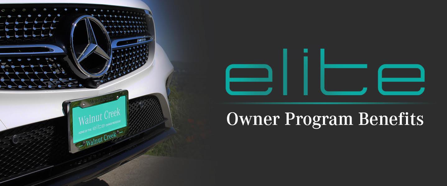 Elite Owner Program Benefits Mercedes Benz Of Walnut Creek