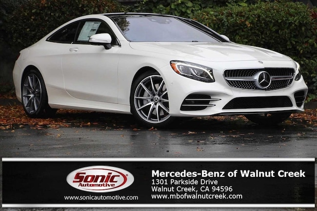 New 2019 Mercedes-Benz S-Class S 560 4MATIC Coupe for sale near San Francisco, in Walnut Creek