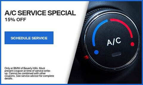 15% A/C Service Special