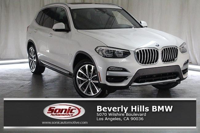 New 2019 BMW X3 sDrive30i SAV in Los Angeles