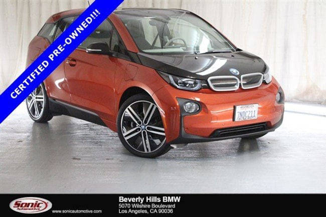 Certified Used 2015 BMW i3 with Range Extender Hatchback in Los Angeles