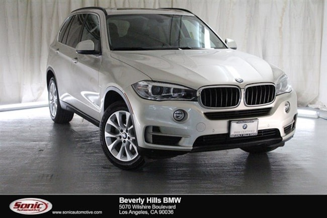Certified Used 2016 BMW X5 SAV in Los Angeles