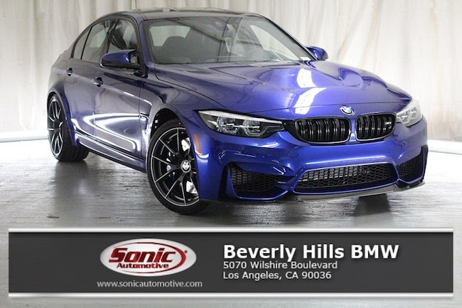 New 2018 BMW M3 CS Sedan in Los Angeles