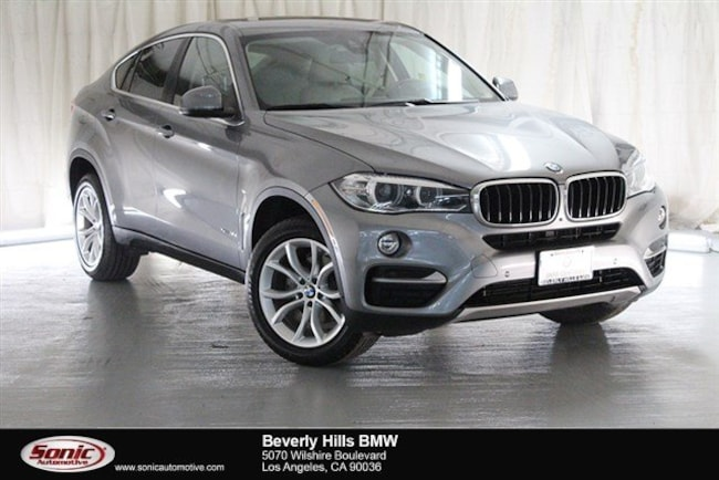 Certified Used 2016 BMW X6 Sports Activity Coupe in Los Angeles