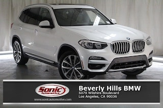 New 2019 BMW X3 sDrive30i SAV for sale in Los Angeles