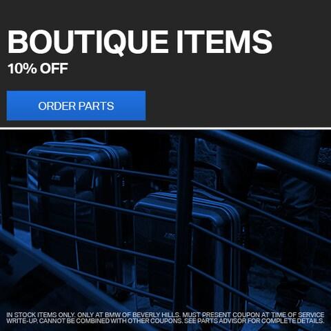 Boutique Items