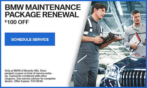 BMW Maintenance Package