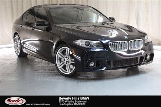 Used 2016 BMW 550i Sedan Los Angeles