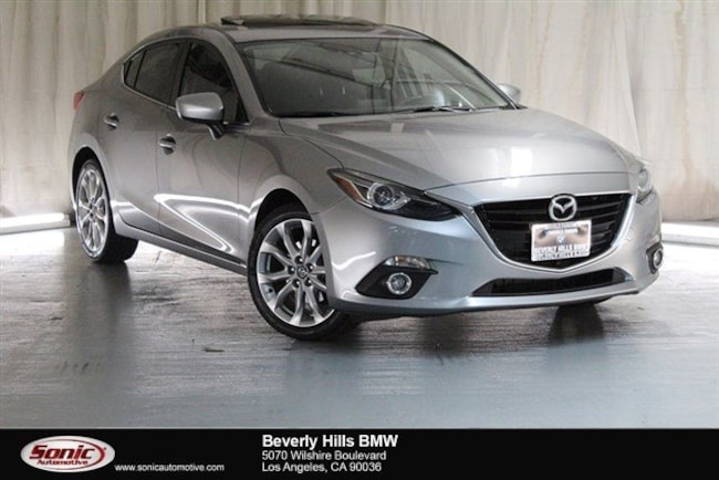 Used 2016 Mazda Mazda3 s Grand Touring Sedan Los Angeles