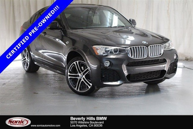 Certified Used 2016 BMW X4 Sports Activity Coupe in Los Angeles