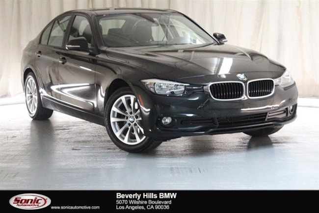 Used 2016 BMW 320i Sedan Los Angeles