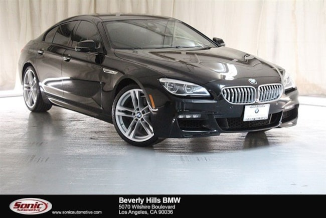 Certified Used 2016 BMW 650i Gran Coupe in Los Angeles
