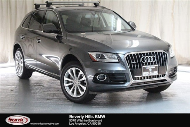 Used 2015 Audi Q5 Premium Plus SUV Los Angeles