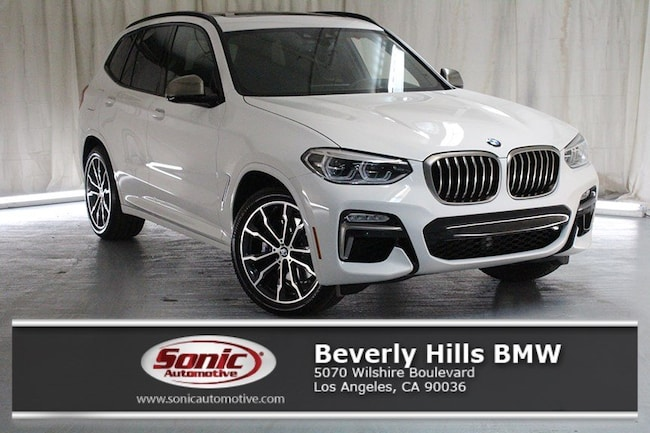 New 2019 BMW X3 M40i SAV in Los Angeles