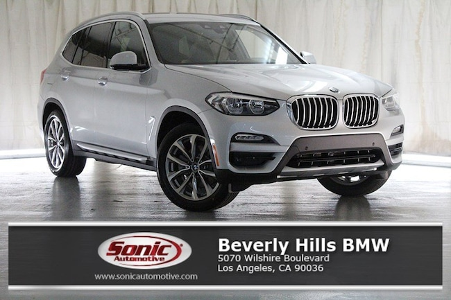 New 2019 BMW X3 sDrive30i SAV in Los Angeles