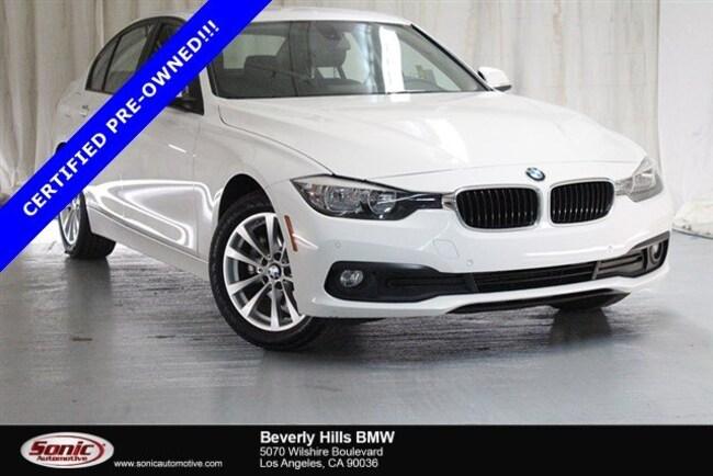 Certified Used 2016 BMW 320i Sedan in Los Angeles