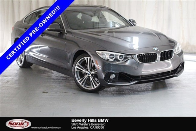 Certified Used 2016 BMW 428i Gran Coupe in Los Angeles
