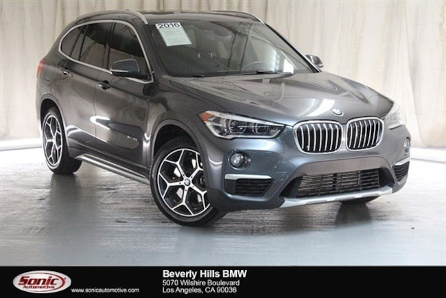 Used 2016 BMW X1 SUV Los Angeles