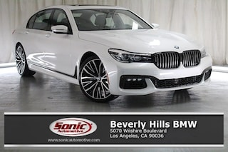 New 2019 BMW 740i Sedan for sale in Los Angeles