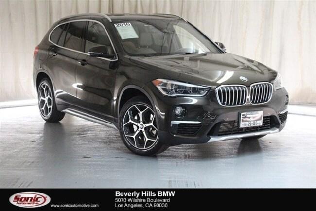 Used 2016 BMW X1 SUV Los Angeles