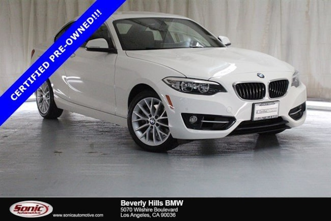 Certified Used 2016 BMW 228i Coupe in Los Angeles