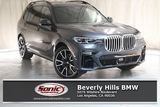 New 2019 BMW X7 xDrive50i SUV for sale in Los Angeles