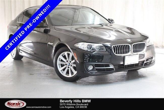 Certified Used 2016 BMW 528i Sedan in Los Angeles