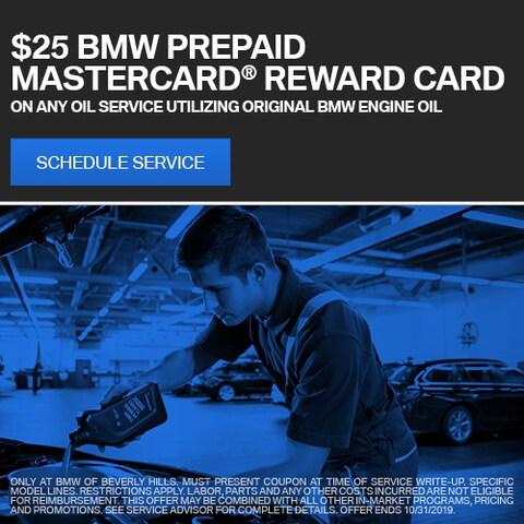 BMW Prepaid Mastercard® Reward Card