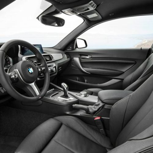 BMW 2 Series Driver Interior