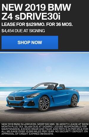 NEW 2019 BMW Z4 sDRIVE30i