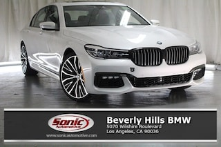 New 2019 BMW 740i Sedan in Los Angeles