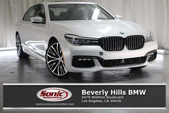 New 2019 BMW 740i Sedan in Los Angeles