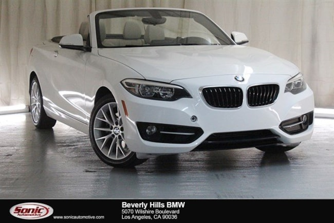 Used 2016 BMW 228i Convertible Los Angeles