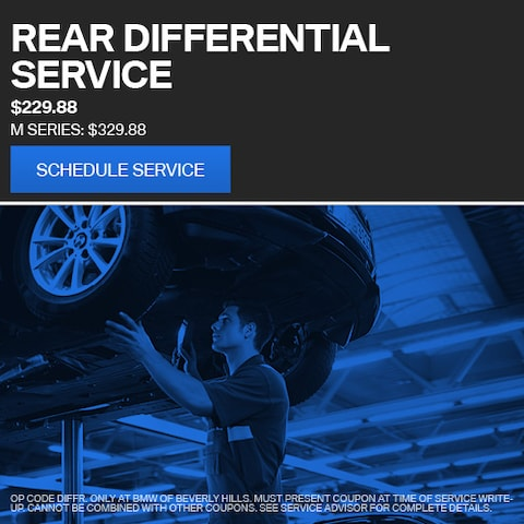 Rear Differential Service