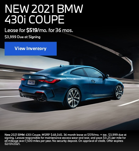 NEW 2021 BMW 430i COUPE