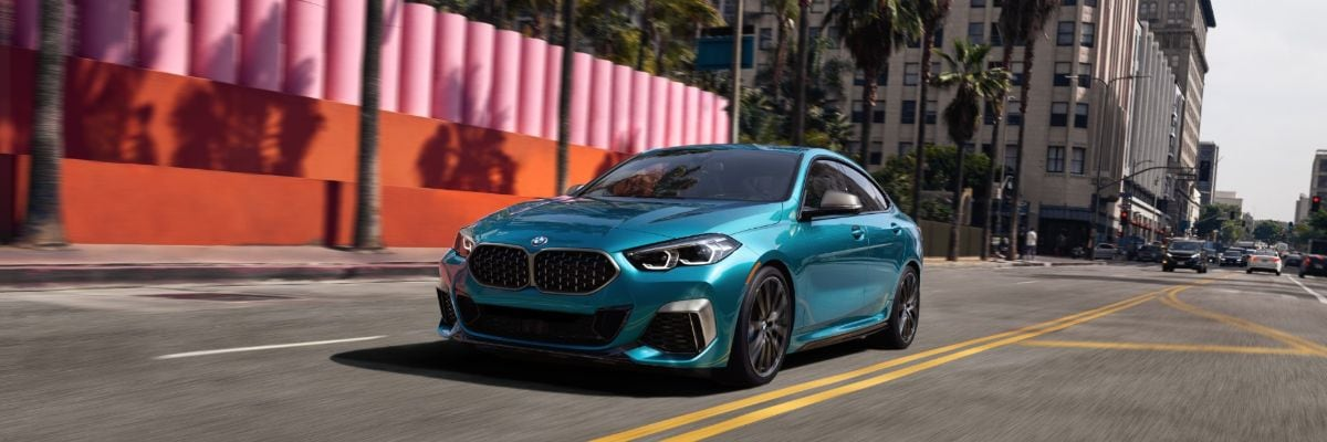 BMW 2 Series Gran Coupe Teal