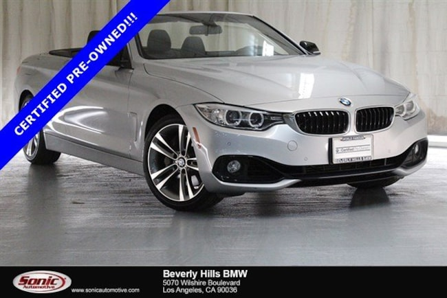 Certified Used 2015 BMW 435i Convertible in Los Angeles