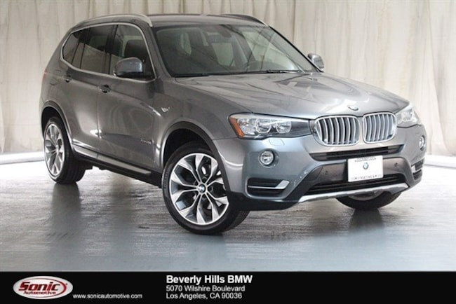 Certified Used 2016 BMW X3 SAV in Los Angeles
