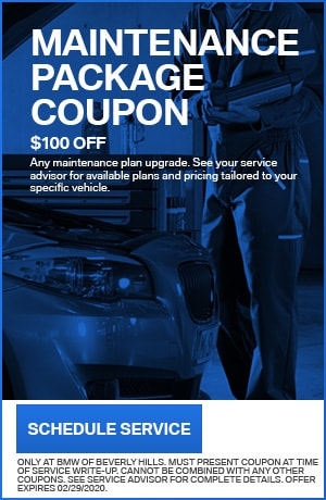 MAINTENANCE PACKAGE COUPON